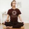Profesor de yoga David Cabezas