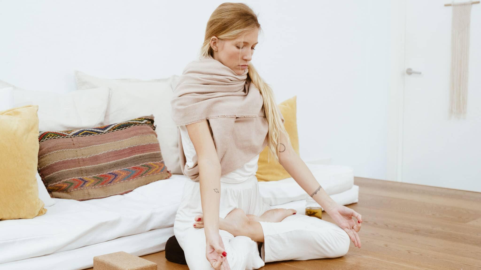 Yoga para aliviar la ansiedad