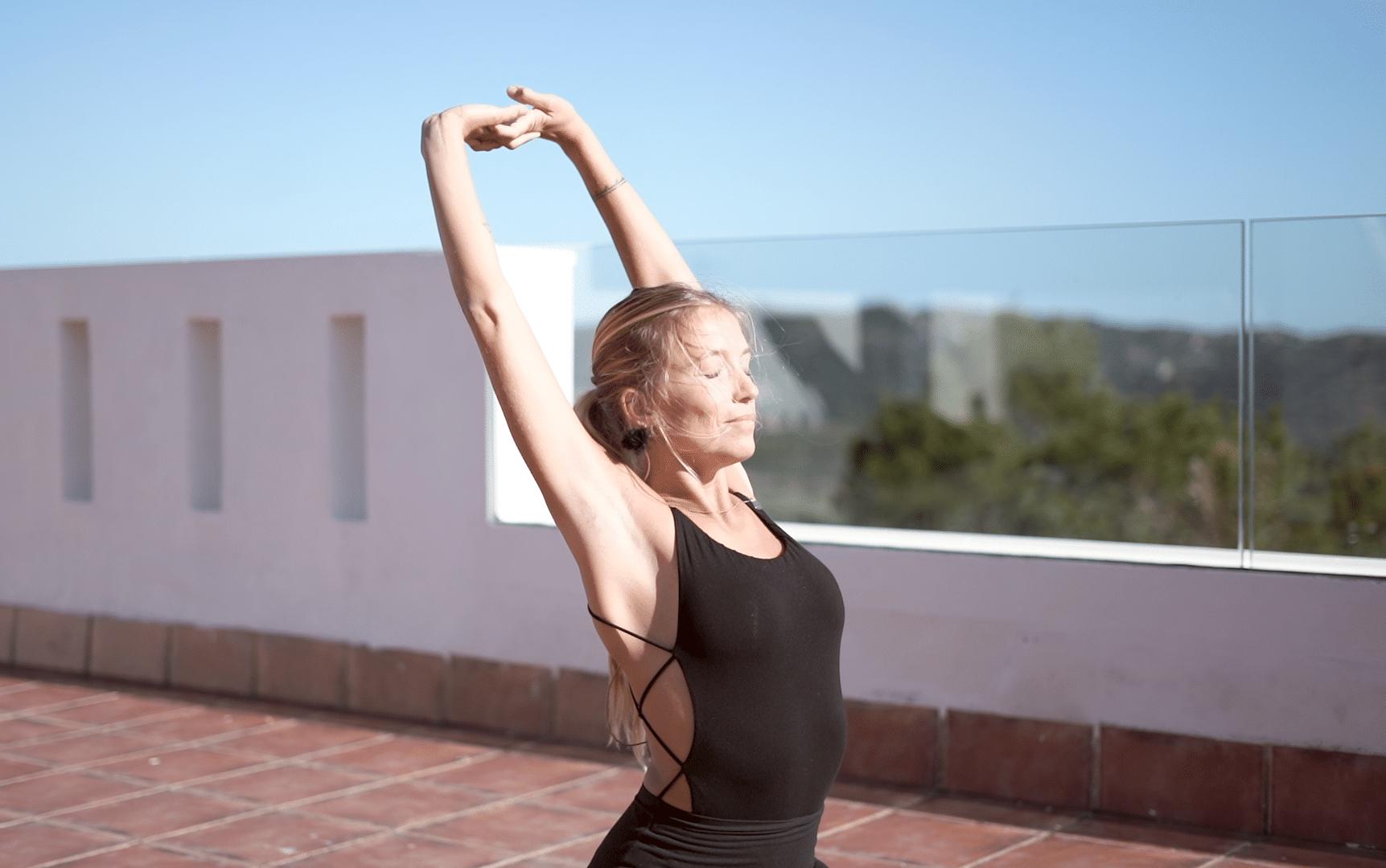 10 min de yoga por la mañana