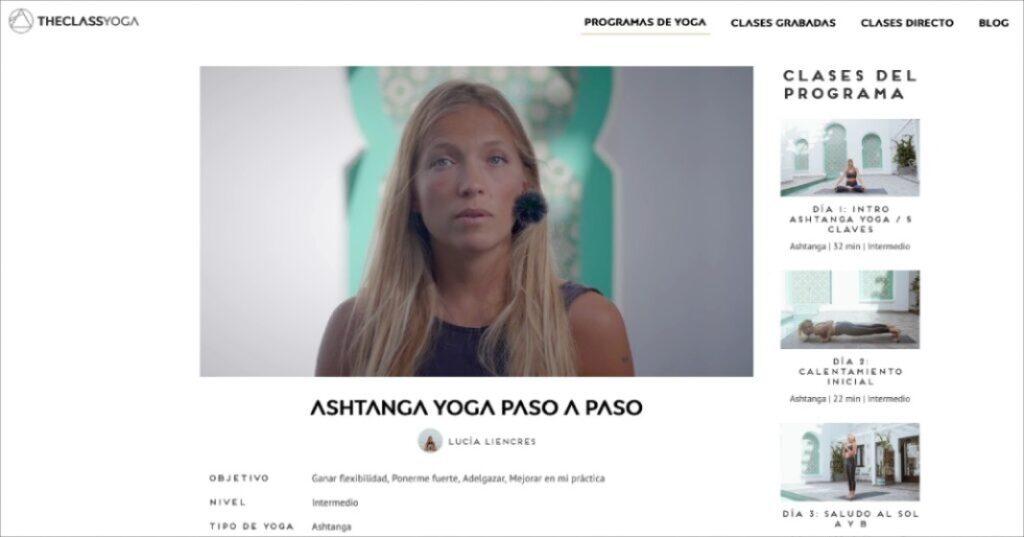 descubre todas las posturas de yoga invertidas con el tutorial de ashtanga
