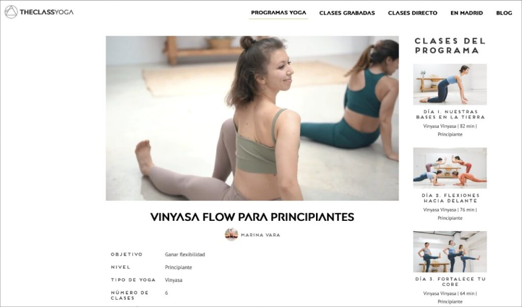 practica hatha vinyasa yoga para controlar las posturas y ganar flexibilidad