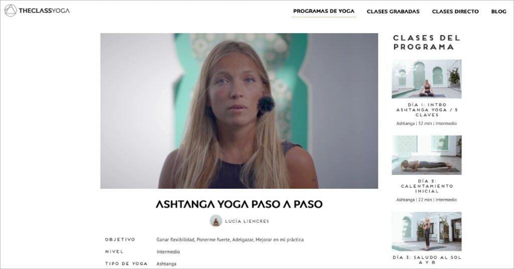 primera serie de ashtanga yoga