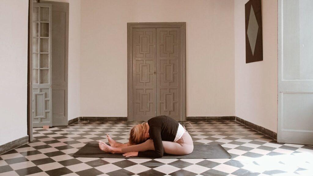 yin yoga posturas para dormir