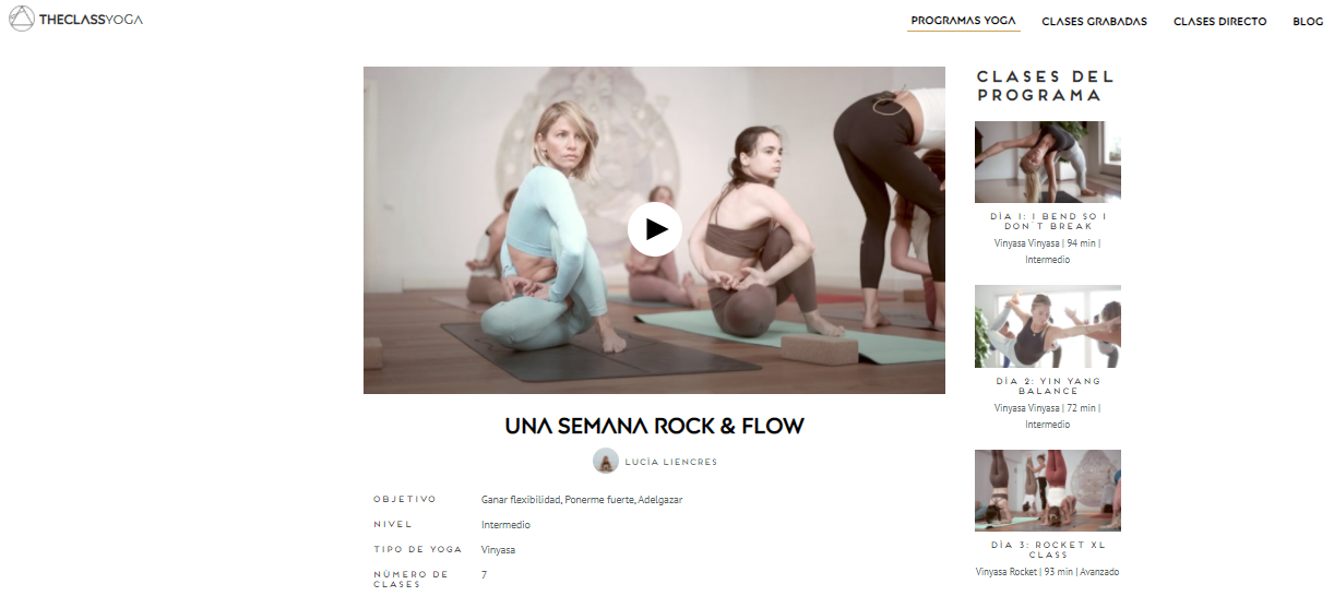 programa yoga surf