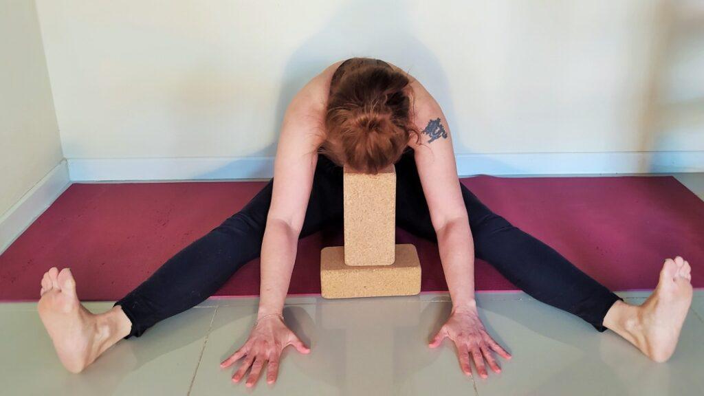 practicar posturas de viniyoga para sanar el cuerpo
