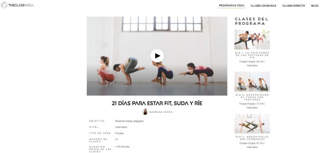 programa abdominales yoga