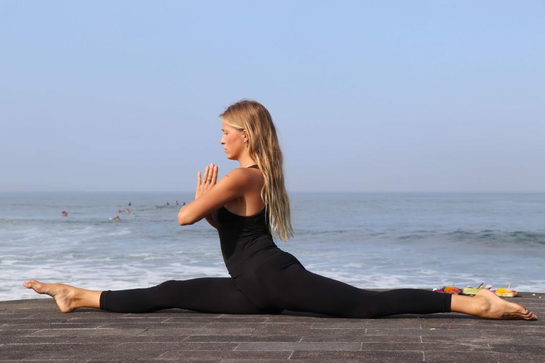 Cómo hacer hanumanasa o el spagat en yoga